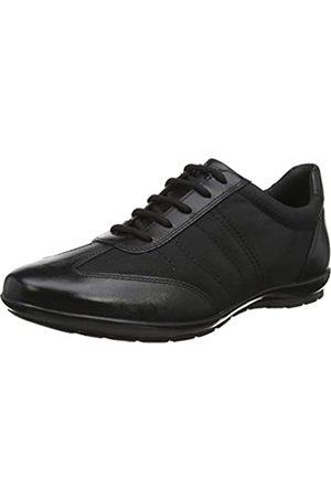 Geox Geox Herren Uomo Symbol B Sneaker, Schwarz (Black)