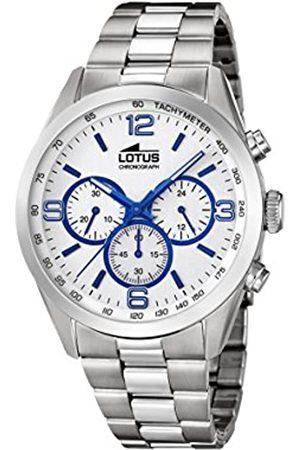 Lotus Lotus Herren Analoger Quarz Uhr mit Edelstahl Armband 18152/3