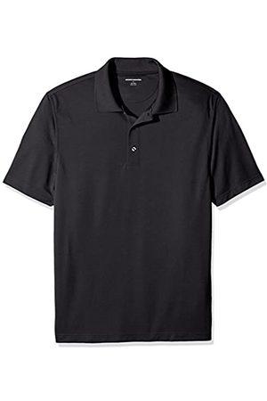 Amazon Amazon Essentials Regular-Fit Quick-Dry Golf Polo Shirt Poloshirt, Black