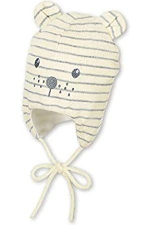Sterntaler Sterntaler Unisex Mütze mit niedlichem Bärengesicht und abstehenden Öhrchen, Gefüttert mit Baumwoll-Fleece, Alter: 5-6 Monate, Größe: 43