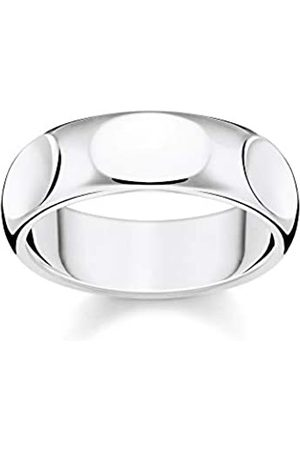 Thomas Sabo Thomas Sabo Unisex-Ring Puristisches 925 Sterlingsilber TR2281-001-21-54