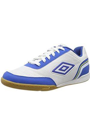 Umbro Umbro Herren Futsal Street V Futsalschuhe, Weiß (White/Tw Royal/Electric Blue/Blazing Yellow FNW)
