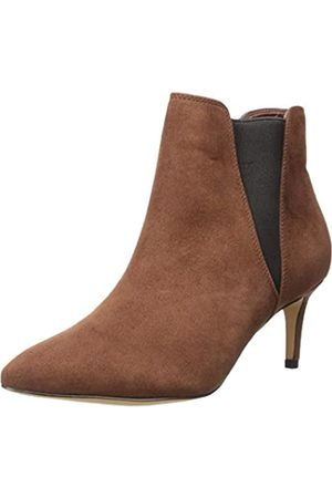 THE DROP Damen Stella Pull-on Kitten Heel Boot Stiefel