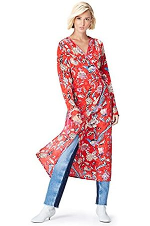 FIND Amazon-Marke: find. Damen Midi-Wickelkleid, 40