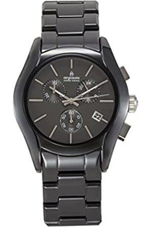 ARGONAU Argonau Unisex Erwachsene Analog Quarz Uhr mit Keramik Armband AU1400