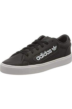 adidas Adidas Damen Sleek W Gymnastikschuh, Core Schwarz/Crystal Weiß/FTWR Weiß