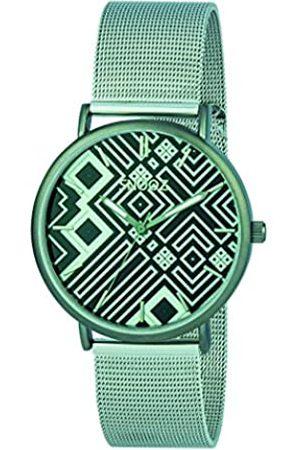 Snooz Snooz Herren Analog Quarz Uhr mit Edelstahl Armband Saa1042-83