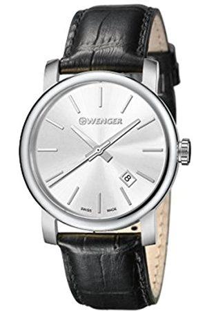 Wenger Wenger Herren Analog Quarz Uhr mit Leder Armband 01.1041.122