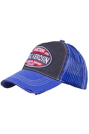 King kerosin Herren Trucker Cap Im Used Look Hi Octane Casual Bestickt Stickerei Streetwear Schnalle Trucker Cap Hi-Octane