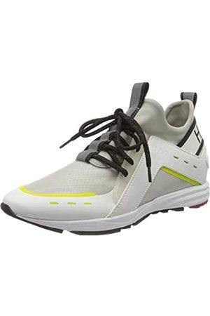 HUGO BOSS HUGO Damen Hybrid_Runn_mxrf 10224049 01 Sneaker, Weiß (White 100)