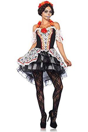 Leg Avenue LEG AVENUE 85557 - Damen Kostüm Totenkopf 'Lovely Calavera