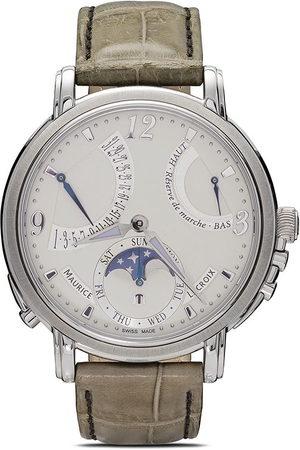 Maurice Lacroix Lune Retrógrade' Armbanduhr - SILVER