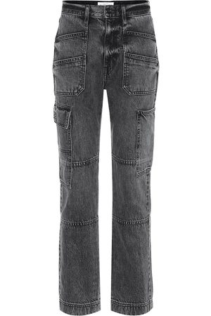SLVRLAKE High-Rise Straight Jeans Savior