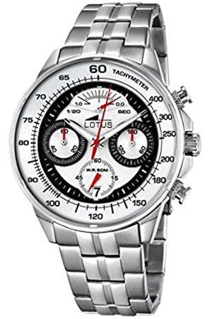 Lotus Lotus Herren Analog Quarz Uhr mit Edelstahl Armband 10129/1