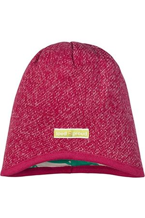 loud + proud Mädchen Melangestrick Aus Bio Baumwolle, GOTS Zertifiziert Mütze