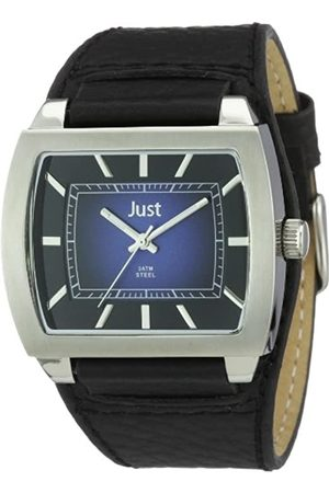 Just Watches Just Watches Herren-Armbanduhr XL Analog Leder 48-S5228A-BL