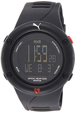 Puma PUMA Herren Digital Quarz Uhr mit Plastik Armband PU911291001
