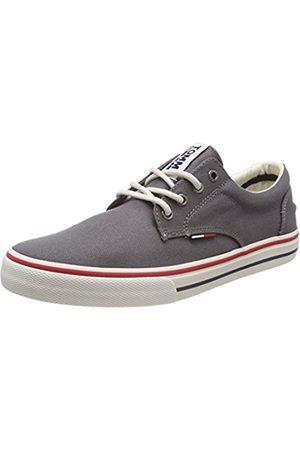Tommy Hilfiger Herren Textile Sneaker, Grau (Steel Grey 039)