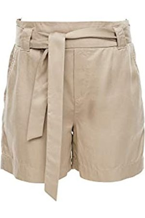 s.Oliver S.Oliver RED Label Damen Lyocell-Shorts mit Bindegürtel 46