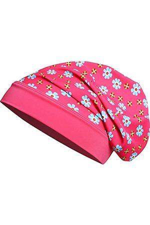 Playshoes Playshoes Mädchen Mütze Beanie Blumen mit UV-Schutz M