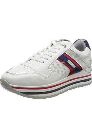 Dockers Damen 44CA212-610505 Sneaker, (Weiss/Multi 505)