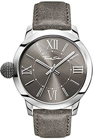 Thomas Sabo Thomas Sabo HerrenArmbanduhr Analog Quarz Leder WA0294-273-210-46 mm