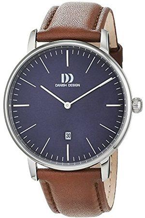 Danish Design Danish Design Herren Analog Quarz Uhr mit Leder Armband 3314540
