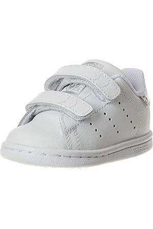 adidas Adidas Unisex-Baby Stan Smith CF I First Walker Shoe, Cloud White/Cloud White/Core Black