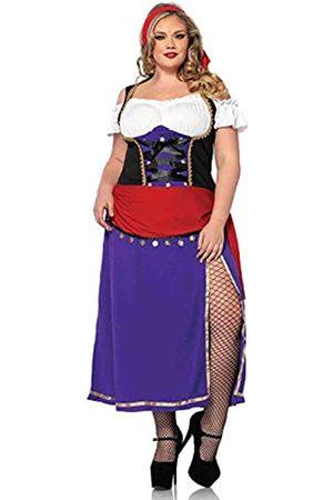 Leg Avenue Damen Anzüge - 85014X - Traveling Zigeunerin Kostüm Set