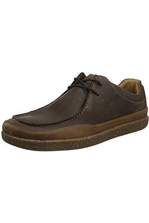 Clarks Herren Un Lisbon Walk Sneaker Niedrig, (Brown Leather)