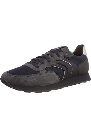 Geox Geox Herren U Vincit B Sneaker, Grau (Anthracite/Navy C9af4)