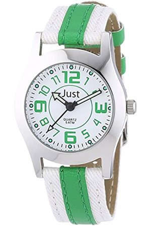 Just Watches Just Watches Unisex-Armbanduhr Analog Quarz Kunstleder 48-S0007-GR