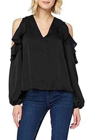 New Look New Look Damen GO CS Ruffle V NK Blouse Hemd