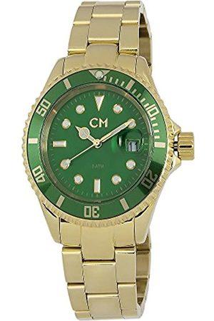 Carlo Monti Carlo Monti Herren-Armbanduhr XL Varese Analog Edelstahl beschichtet CM507-299