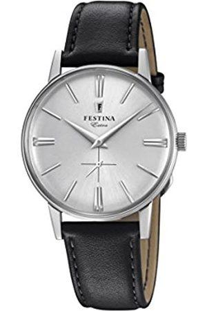 Festina Festina Herren Analog Quarz Uhr mit Leder Armband F20248/1