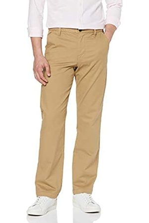 MERAKI Amazon-Marke: Herren Baumwoll Regular Fit Chino Hose , 33W / 34L