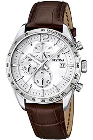 Festina Festina Herren-Armbanduhr Analog Quarz Leder F16760-1