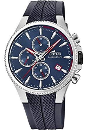 Lotus Lotus Herren Chronograph Quarz Uhr mit Gummi Armband 18621/1