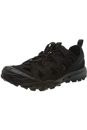 Merrell Merrell Herren Choprock Leather Shandal Aqua Schuhe, Schwarz (Black Black)