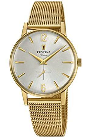 Festina Festina Herren Analog Quarz Uhr mit Edelstahl Armband F20253/1