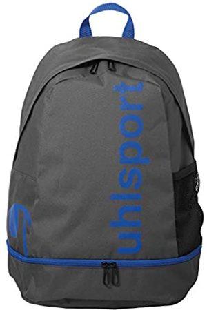 Uhlsport UHL Unisex-Erwachsene Essential Mochila Rucksack, Grau (Anthra/Azurblau)