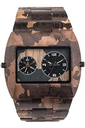 WeWood WEWOOD Herren Analog Quarz Smart Watch Armbanduhr mit Holz Armband WW40004