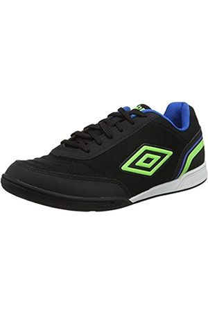 Umbro Umbro Herren Futsal Street V Futsalschuhe, Schwarz (Black/Green Gecko/Electric Blue FCH)
