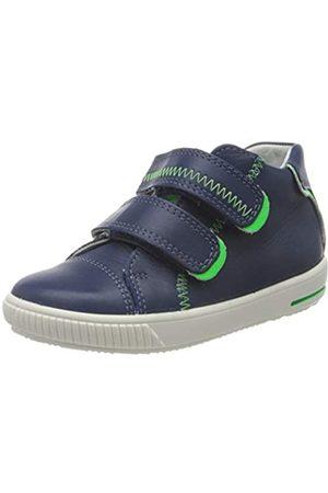 Superfit Superfit Baby Jungen Moppy Sneaker, Blau (Blau/Grün 80)