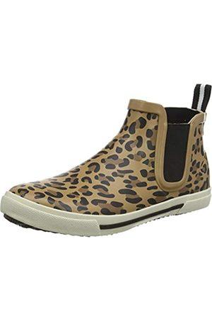 Joules Tom Joule Damen Rainwell Gummistiefel, (Tan Leopard Tan Leopard)