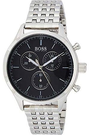HUGO BOSS Hugo Boss Herren Chronograph Quarz Uhr mit Edelstahl Armband 1513652