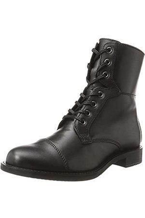 Ecco Damen SHAPE 25 Combat Boots, (Black 1001)