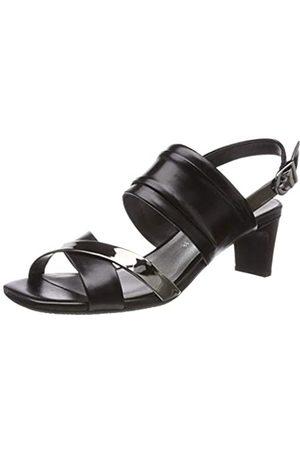 Gerry Weber Shoes Damen Florenz 01 Slingback Sandalen, Schwarz (Schwarz Kombi 101)