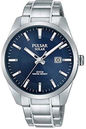 Pulsar Pulsar Herren Analog Solar Uhr mit Edelstahl Armband PX3181X1