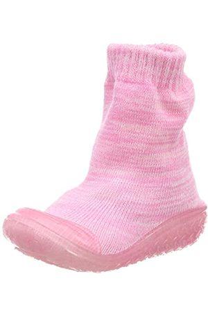 Playshoes Jungen Unisex Kinder Socke gestrickt Hohe Hausschuhe, Pink ( 14)